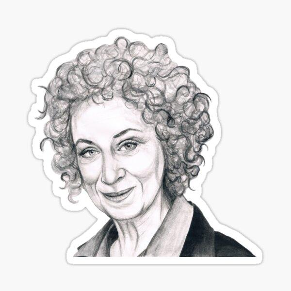 Margaret Atwood Sticker
