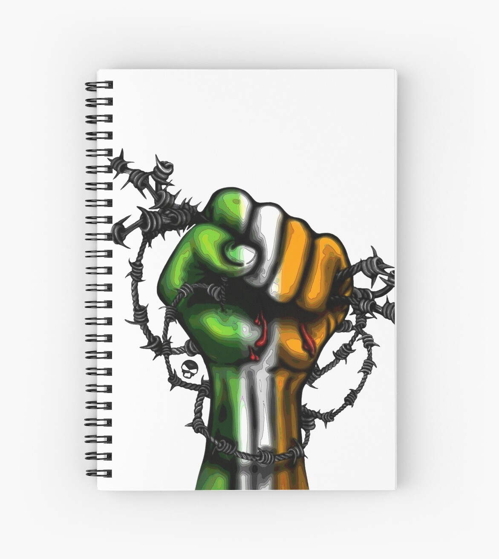 Irish Fist Sticker/ Tee by Sookiesooker