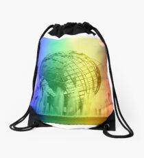 Pride Themed Unisphere - US Open Drawstring Bag