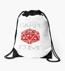 Carpe DM Drawstring Bag