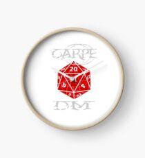 Carpe DM Clock