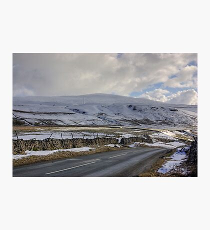 Snow Road in the Dales Photographic Print