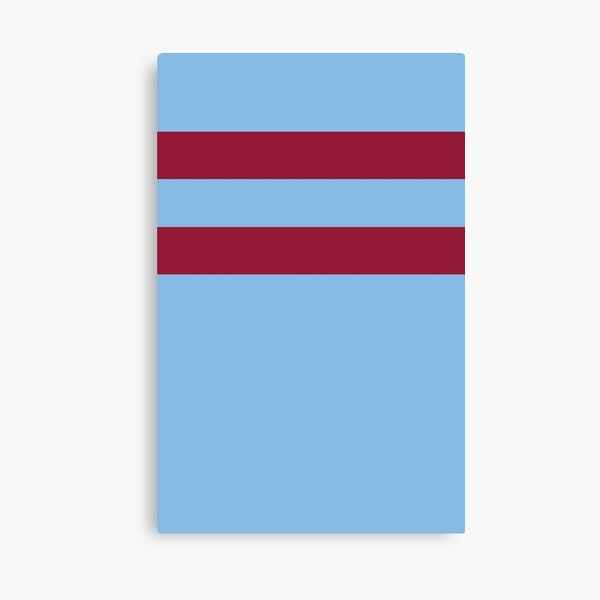 West Ham Retro 1966 Away  Canvas Print