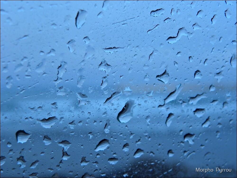 raindrops I by Morpho  Pyrrou