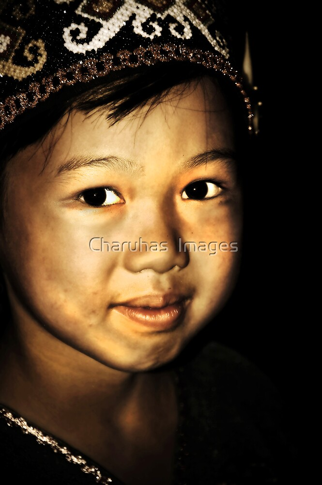 Tribal Girl by Charuhas  Images
