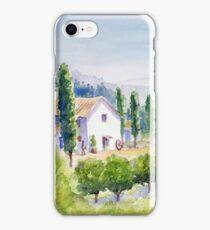 French vineyard iPhone Case/Skin