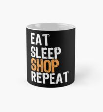8d709a46c50 Eat Sleep Shop Repeat Gifts & Merchandise   Redbubble