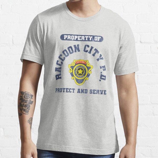 Departamento de policía de Raccoon City   Resident Evil 2 Camiseta esencial