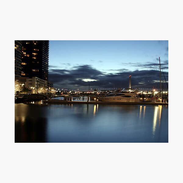 Docklands Reflected Photographic Print