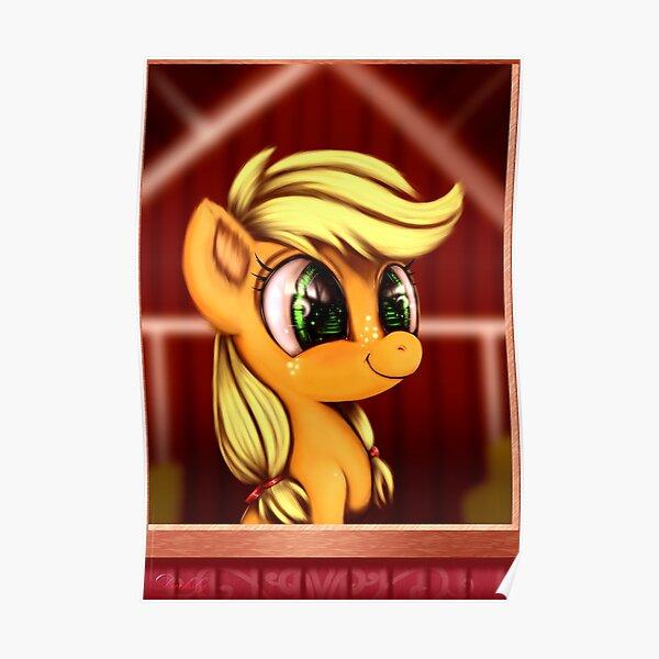 Applejack Filly  Poster