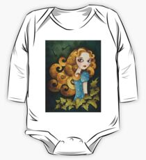 Alice T-shirt (w/background) One Piece - Long Sleeve