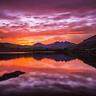 The End of the Day over Snowdon by DafyddEm
