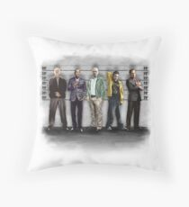 Breaking Bad/ The Usual Suspects (colour) Throw Pillow