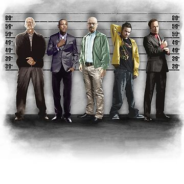 Breaking Bad/ The Usual Suspects (colour) by ronin47design