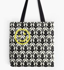 BBC Sherlock 'Bored Smiley Face'  Tote Bag