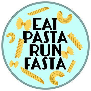 Comer pasta correr fasta de abbyconnellyy