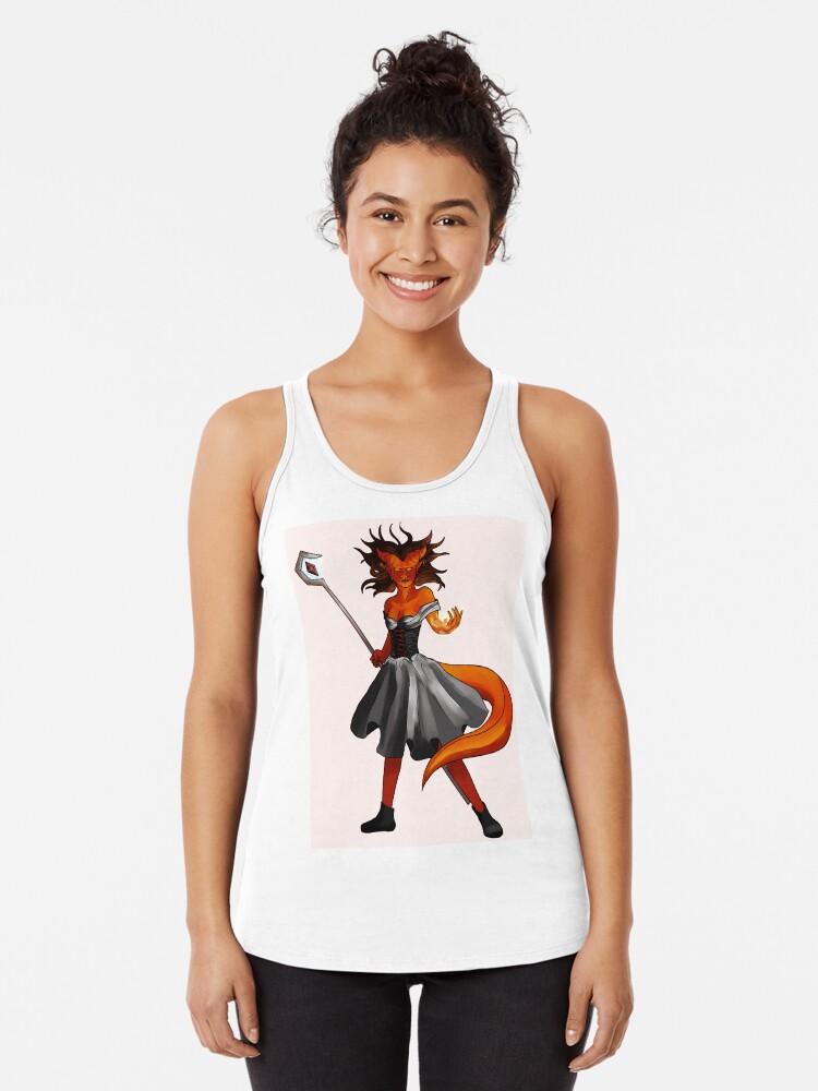 'Tiefling Sorcerer' T-Shirt by Behodahlia