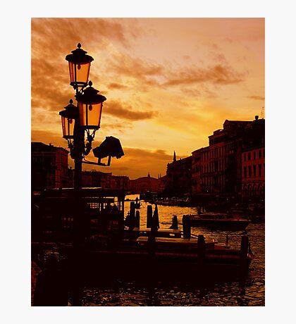 SILENT VENICE Photographic Print