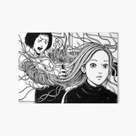 Junji Ito; Uzumaki Art Board Print