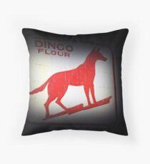 Dingo Flour Sign - Fremantle Western Australia  Throw Pillow