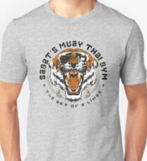 Sagats Muay Thai Gym Slim Fit T-Shirt