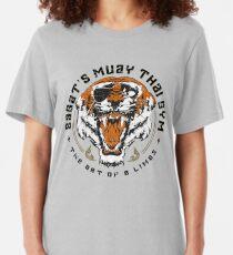 Sagat's Muay Thai Gym Slim Fit T-Shirt