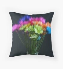Lensbaby Bouquet Throw Pillow