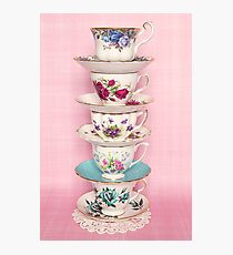 Fancy a cup of tea or two or three? Photographic Print