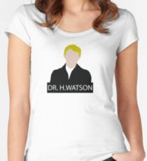 Doctor John Hamish Watson Women's Fitted Scoop T-Shirt