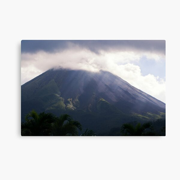 Arenal Volcano In the Mist Canvas Print