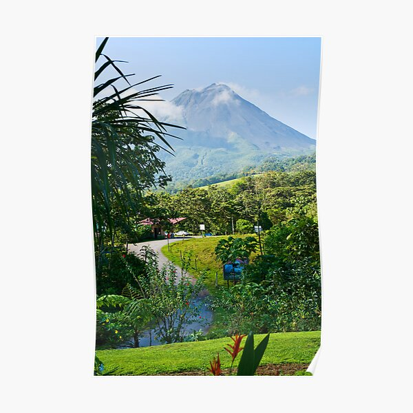 Pathway to Arenal Volcano Poster