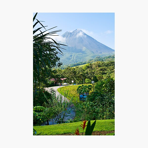 Pathway to Arenal Volcano Photographic Print