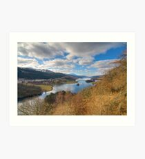 Loch Tummel Art Print