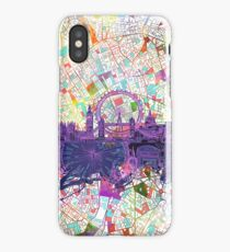 London skyline abstract iPhone Case