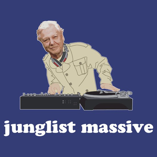 TShirtGifter presents: Junglist Massive
