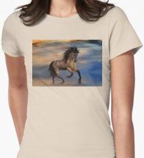 Cosmic .. Wild Stallion Womens Fitted T-Shirt