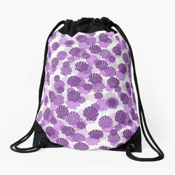 Sea Shells Drawstring Bag