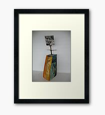 Mapping separate histories Framed Print