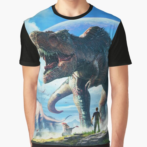 ARK: SURVIVAL EVOLVED | T-REX SKY  Graphic T-Shirt