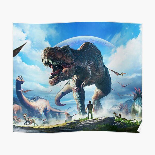 ARK: SURVIVAL EVOLVED | T-REX SKY  Poster