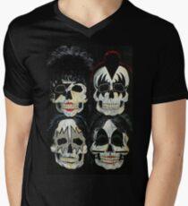 Killer Kuss T-Shirt mit V-Ausschnitt für Männer