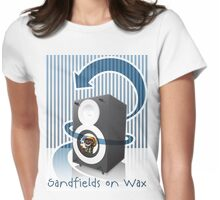 Sandfields on Wax T-Shirt Womens Fitted T-Shirt