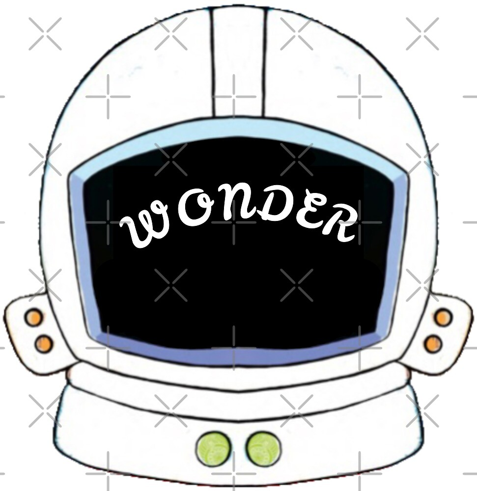 """Wonder Astronaut Helmet"" by FaithC340 