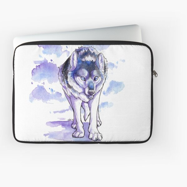Wandering Wolf Laptop Sleeve