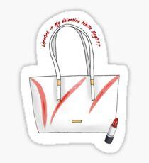 bb0504157ae3 Lipstick In My Valentino White Bag    Sticker