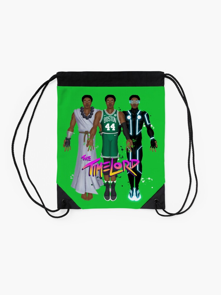Alternate view of Timelord - Robert Williams - Time Lord Drawstring Bag