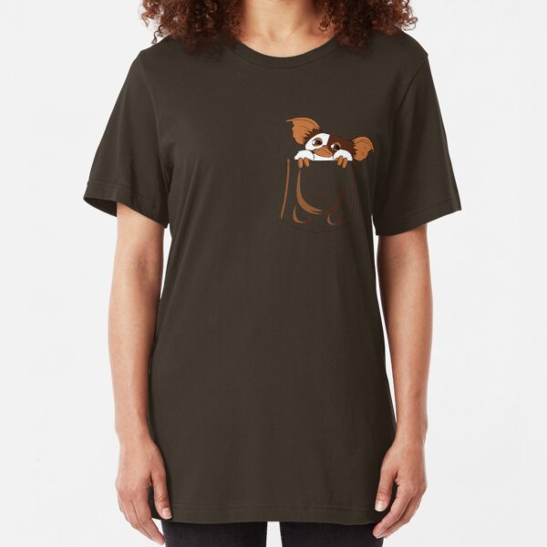 gizmo pocket Slim Fit T-Shirt