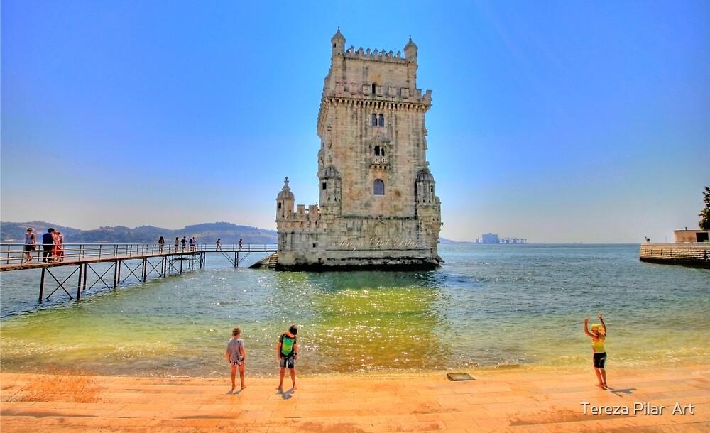 Belém colors by terezadelpilar ~ art & architecture