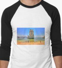 Belém colors Men's Baseball ¾ T-Shirt