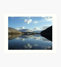 loch of the lowes Art Print